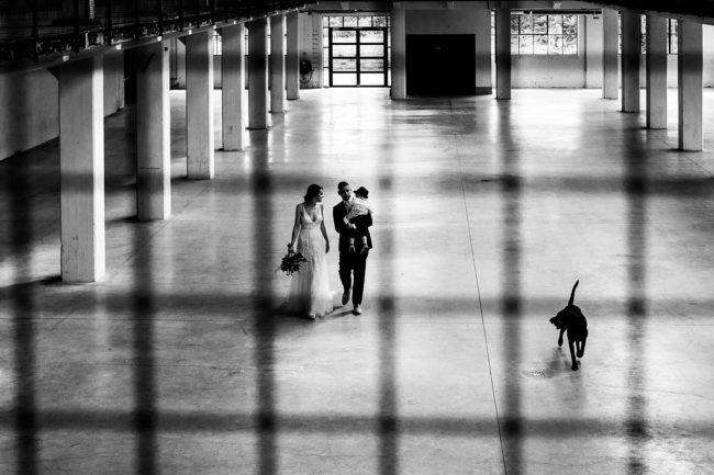 bruidspaar in Hengelo