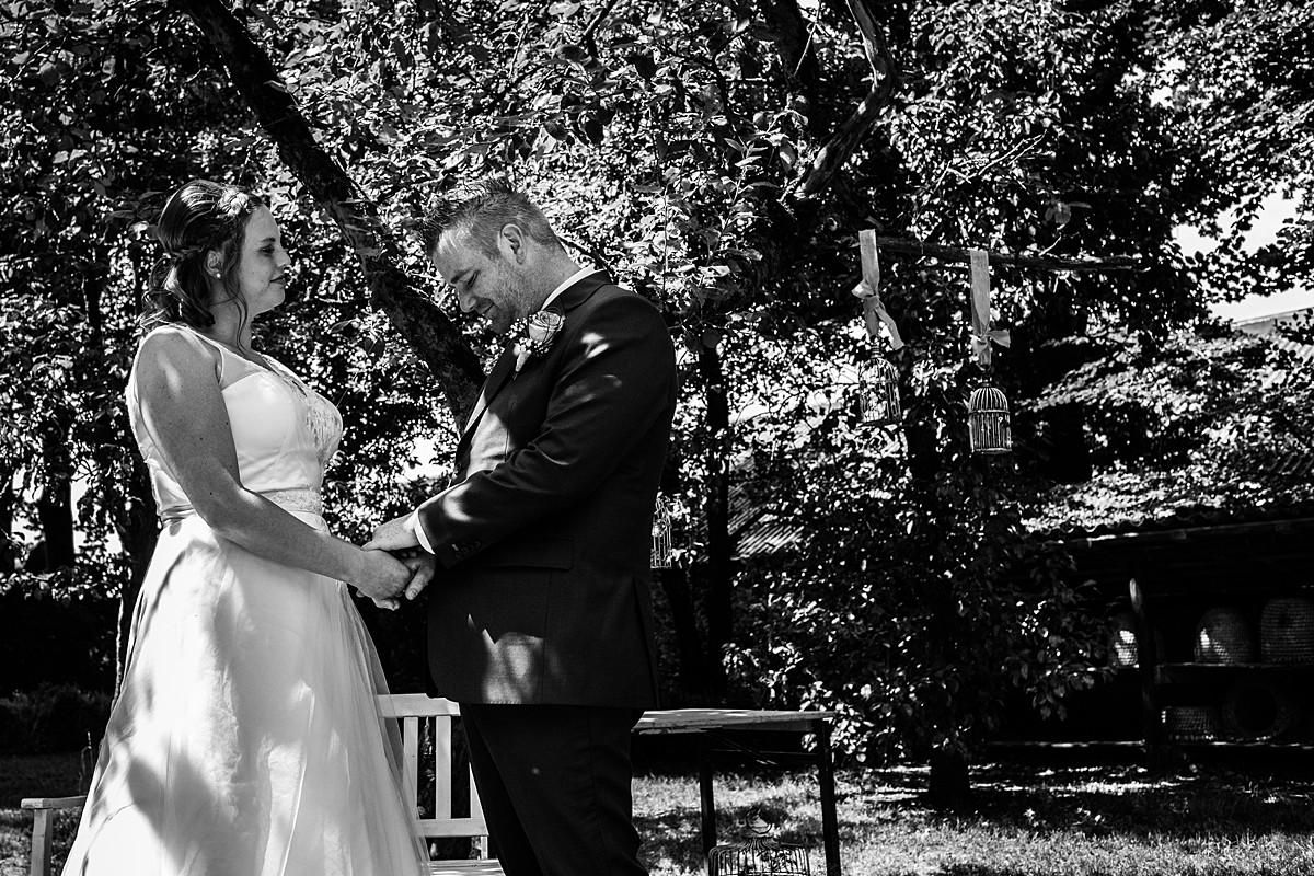 huwelijksceremonie boerderij Het Molentje in Garderen