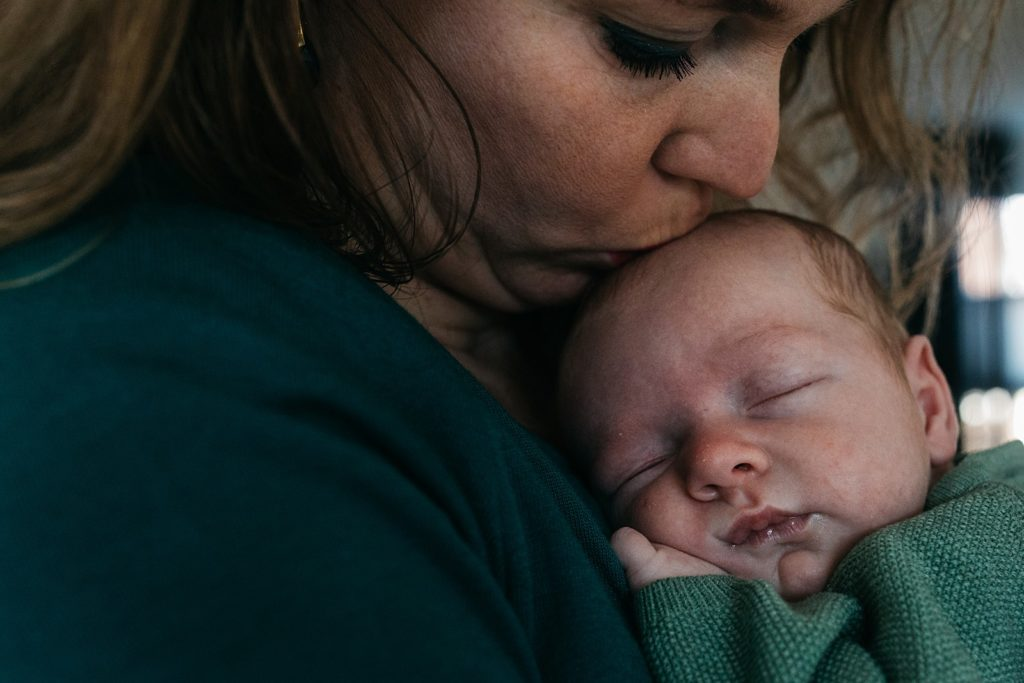 moeder kust newborn